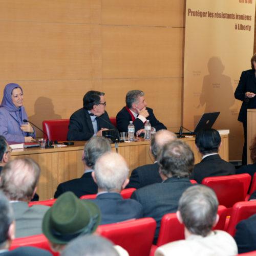 Maryam Rajavi - Senate of France - 21 January 2014-6