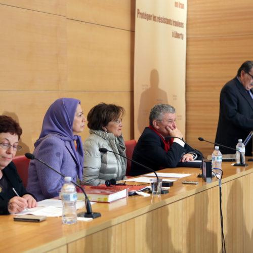 Maryam Rajavi - Senate of France - 21 January 2014-9