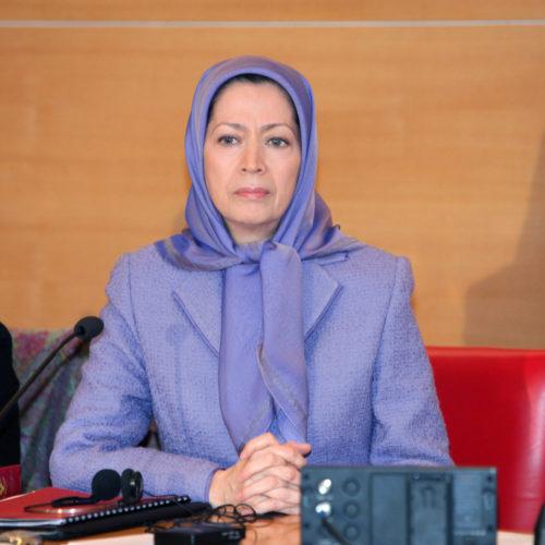 Maryam Rajavi - Senate of France - 21 January 2014-4