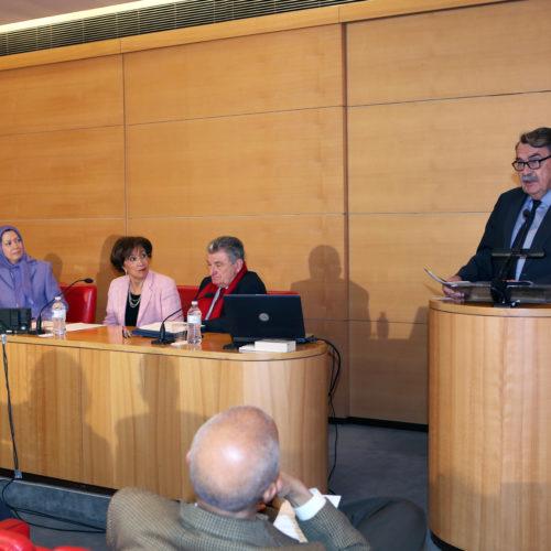 Maryam Rajavi - Senate of France - 21 January 2014-2