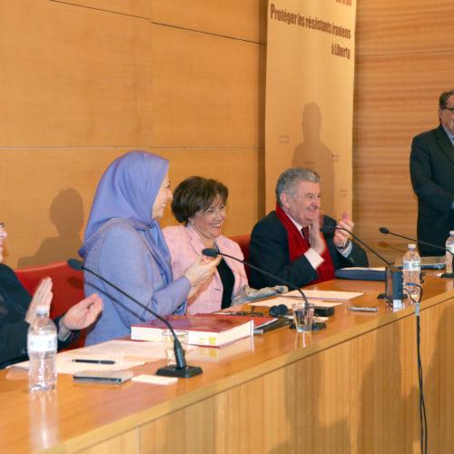 Maryam Rajavi - Senate of France - 21 January 2014-1