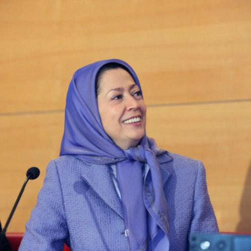 Maryam Rajavi - Senate of France - 21 January 2014-7