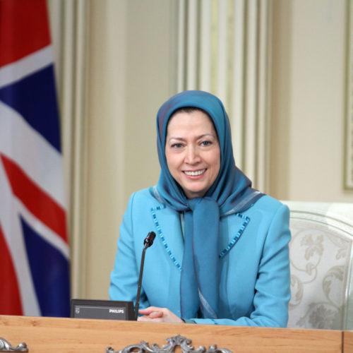 Maryam Rajavi- Meeting with British delegation -27 January 2014-19
