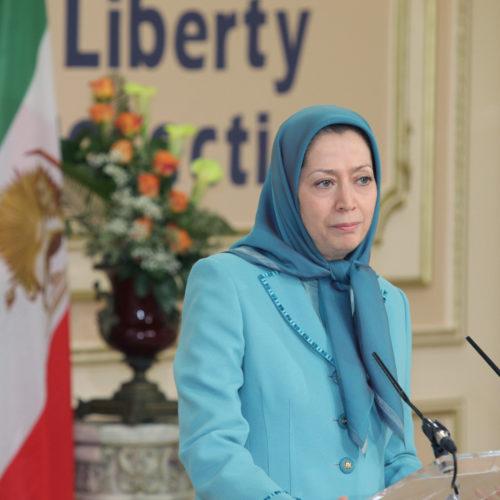 Maryam Rajavi- Meeting with British delegation -27 January 2014-14