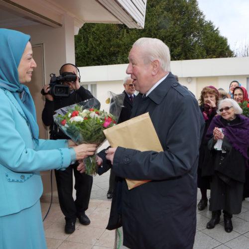 Maryam Rajavi- Meeting with British delegation -27 January 2014-4