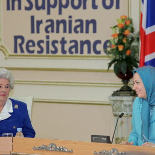 Maryam Rajavi- Meeting with British delegation -27 January 2014-17