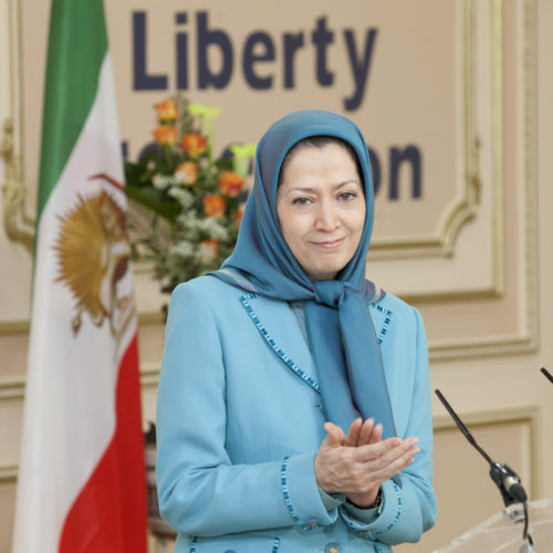 Maryam Rajavi- Meeting with British delegation -27 January 2014-13