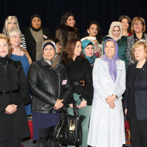 Maryam Rajavi –conference on the occasion of International Women's Day-Paris- March 1, 2014