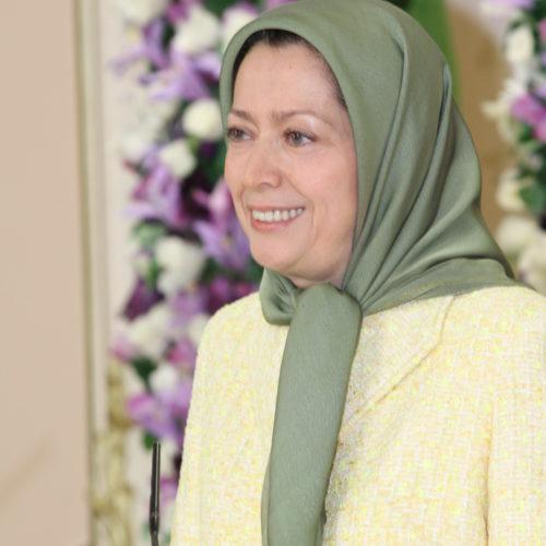 Maryam Rajavi –Nowrooz -Iranian New Year's celebration at Auvers-sur-Oise- France