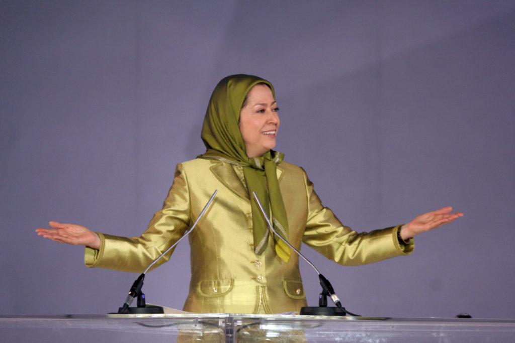 نشریه حقوقبشر نوین :مصاحبه با مریم رجوی پرزیدنت برگزیده شورای ملی مقاومت ایران