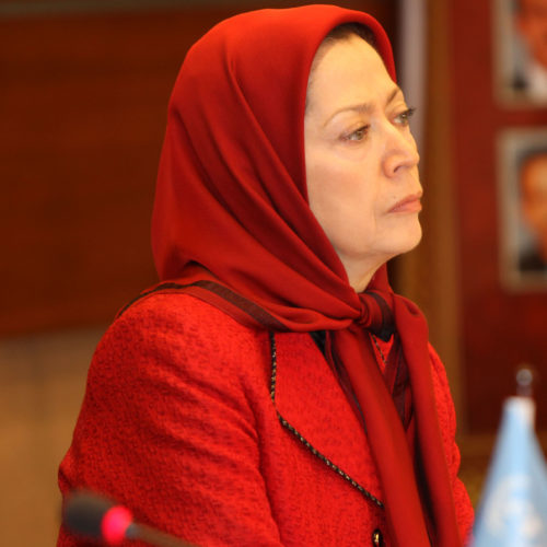 Maryam Rajavi  -International Conference at the UN European Headquarters in Geneva1308014