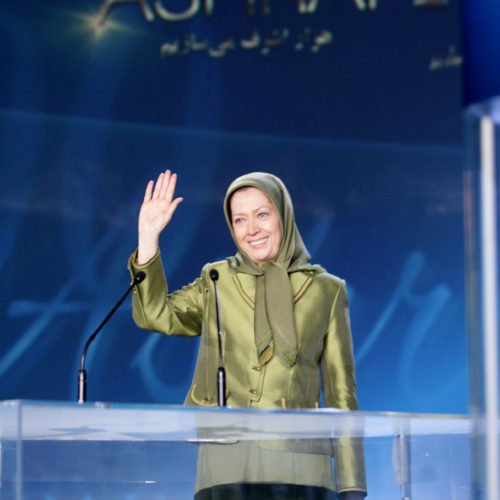 Maryam Rajavi- Gathering for the anniversary of massacre of 52 hero martyrs in camp Ashraf – 1 September 2014