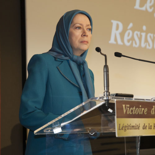 Maryam Rajavi at French National Assembly – 28 October 2014
