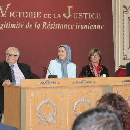 Conference Justice Prevail, Iranian Resistance Vindicated Headquarters of the National Council of Resistance 8 November 2014