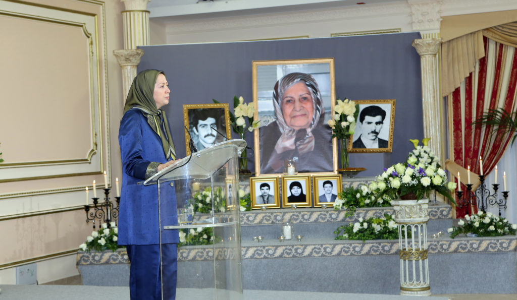 """پیام تسلیت مریم رجوی بهمناسبت درگذشت مادر نستوه و مجاهد """"خانم صادق"""""""
