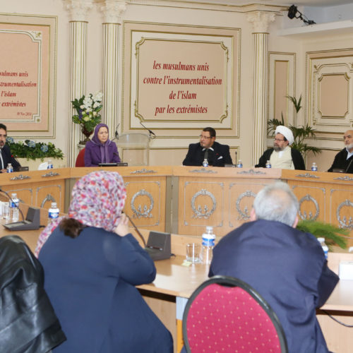 Maryam Rajavi- Meeting with leaders of Muslim community of France – 30 November 2014