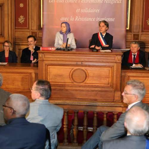 Maryam Rajavi- Meeting at City Hall of 2nd district Paris – 25 November 2014