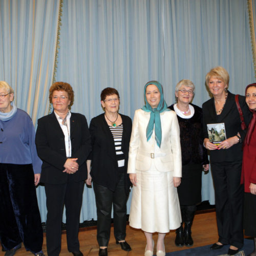 Maryam Rajavi – Meeting with parliamentarian delegations and political personalities in Germany – Berlin -5 March 2015
