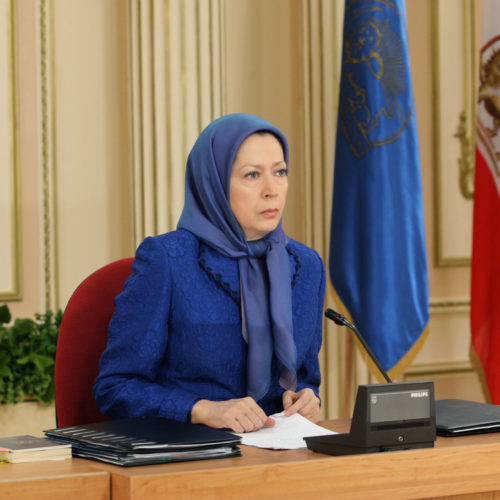 Maryam Rajavi – National Council of Resistance of Iran session – 14 March 2015