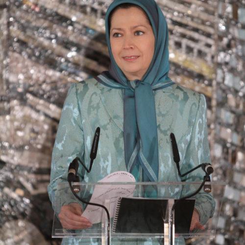 Maryam Rajavi – Conference – Women pioneer of struggle against Islamic fundamentalism – Berlin – 8 March 2015
