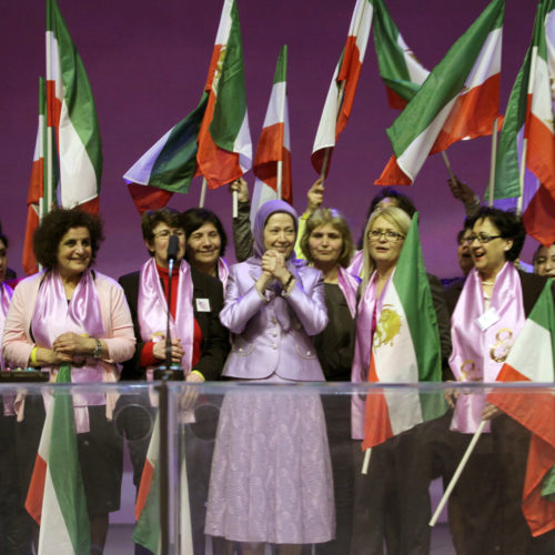 Maryam Rajavi – Gathering for the international women's day – Berlin – 7 March 2015