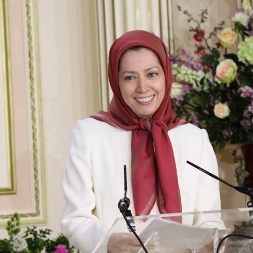Maryam Rajavi – Auvers sur Oise – Gathering of supporters and French personalities – 12 April 2015