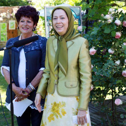مریم رجوی -جشن گلها در اورسوراواز