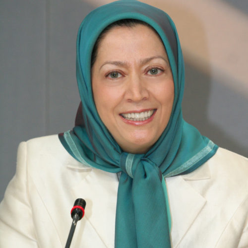 Maryam Rajavi in a meeting in Auvers sur Oise 5-9-2009