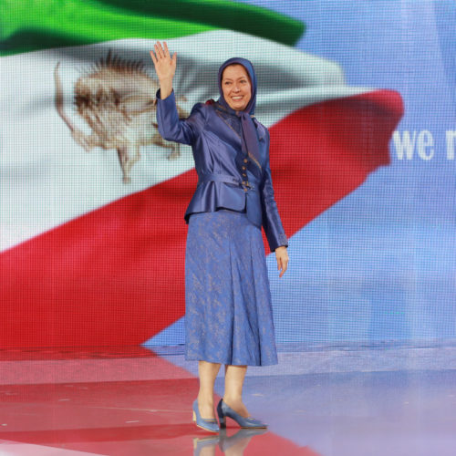 Maryam Rajavi, Iranian opposition leader at the grand annual gathering in Paris _35