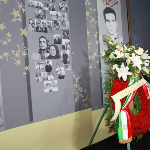 Maryam Rajavi, Iranian opposition leader at the grand annual gathering in Paris _48