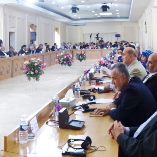 Maryam Rajavi Iranian Opposition Leader in Conference on Middle East- June 14, 2015 - 1
