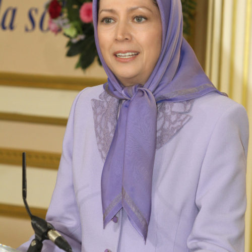 Maryam Rajavi Iranian Opposition Leader in Conference on Middle East- June 14, 2015 - 5