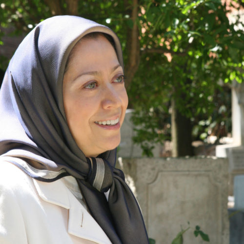 Maryam Rajavi in Rome - Paying tribute to the assasinated representative of the NCRI