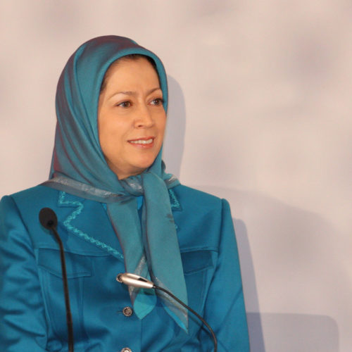 Maryam Rajavi French Senate 12-1-2011