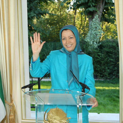 Maryam Rajavi Message New York Gathering 21-9-2010 -1
