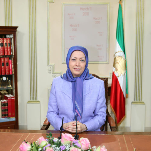 Maryam Rajavi Message UK 6-3-2010