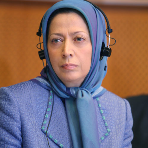 Maryam Rajavi In European Parliament in Brussels 28-5-2008