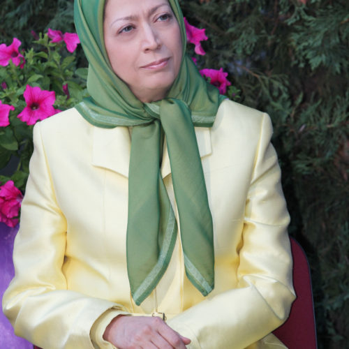 Maryam Rajavi Meeting Auvers sur Oise 17-7-2010