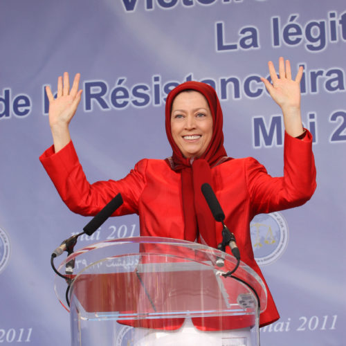 Maryam Rajavi Celebrations in Auvers sur Oise 15-4-2011