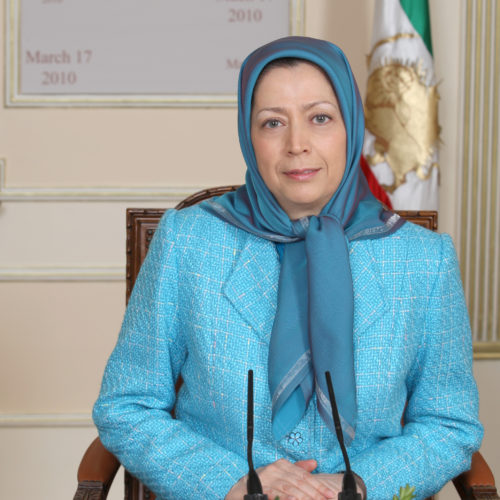Maryam Rajavi Iran opposition leader 16-3-2010 -1