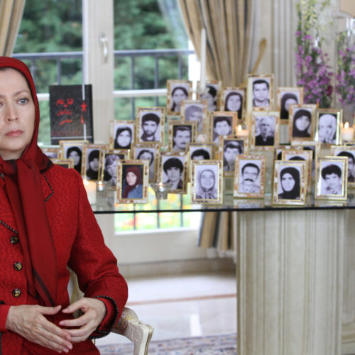 Maryam Rajavi's message commemorating victims of the 1988 massacre of political prisoners in Iran-12August2015-4