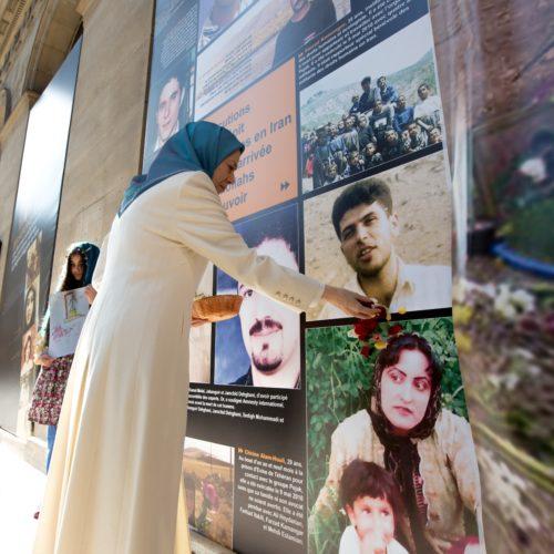 مريم رجوی در كنفرانس بين المللی در پاريس بهمناسبت ۱۰اكتبر، روز جهانی عليه اعدام