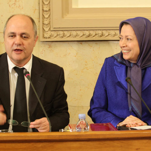 Maryam Rajavi, Conference at the French National Assembly, 27-10-2015