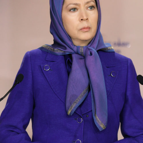 Gathering at NCRI Headquarters in solidarity with the people of France Maryam Rajavi calls on all Muslims to unite against terrorism and extremism under the name of Islam