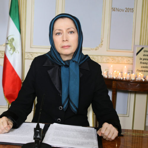 Maryam Rajavi's message condemning terrorist attacks in Paris- November 14, 2015