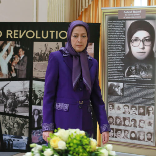 حضور و سخنرانی مریم رجوی در کنفرانس قاطعیت در برابر رژیم ايران با حضور نمایندگان پارلمان انگلستان – ۲۳ بهمن ۱۳۹۴