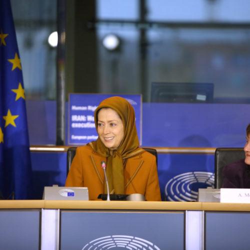 سخنرانی مریم رجوی در پارلمان اروپا در آستانه روز جهانی حقوقبشر- ۱۵ آذر ۱۳۹۶