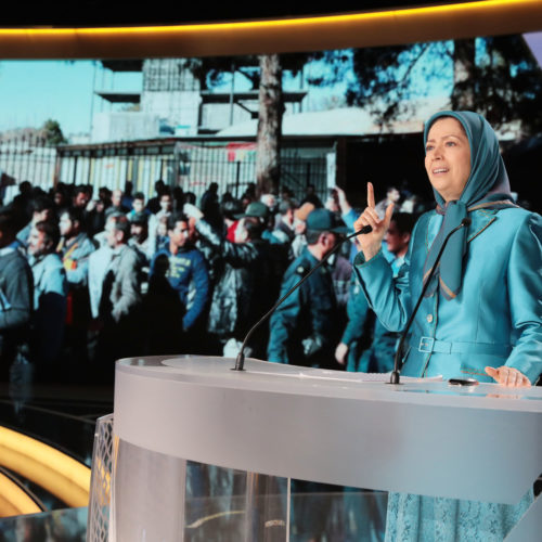 مریم رجوی در گردهمایی بزرگ مقاومت در پاریس- ۹تیرماه ۱۳۹۷