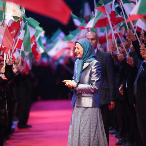مریم رجوی در کنفرانس بین المللی جوامع ایرانی – ۲۴ آذر ۱۳۹۷