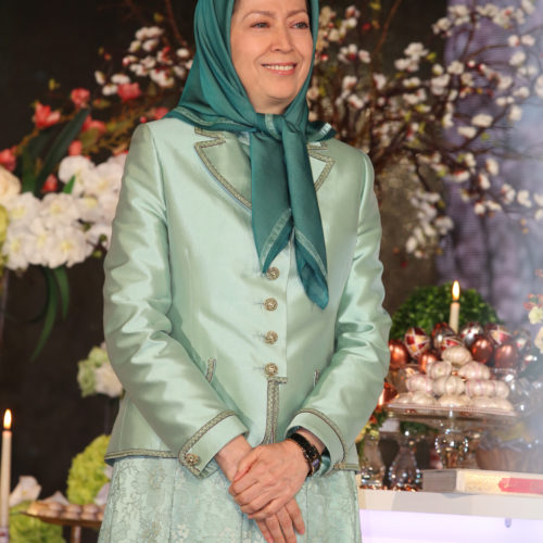 مریم رجوی درگردهمایی بهمناسبت سال نو ایرانی-۲۹ اسفند ۱۳۹۷
